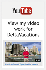 Delta Vacations videos on YouTube